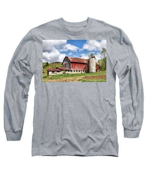 Vermont Barn And Silo  Long Sleeve T-Shirt