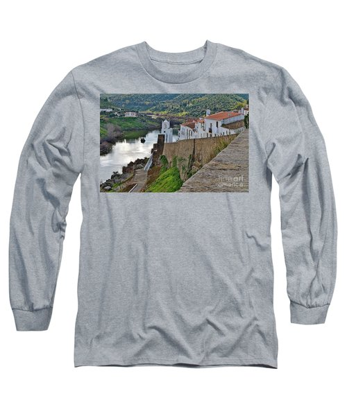 View From The Medieval Castle Long Sleeve T-Shirt
