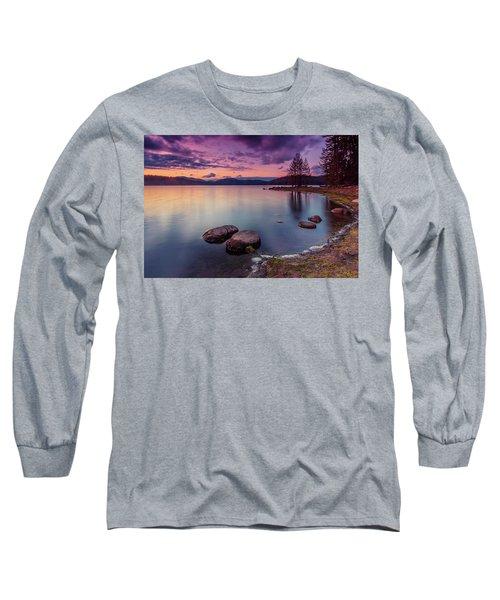 Violet Dusk Long Sleeve T-Shirt