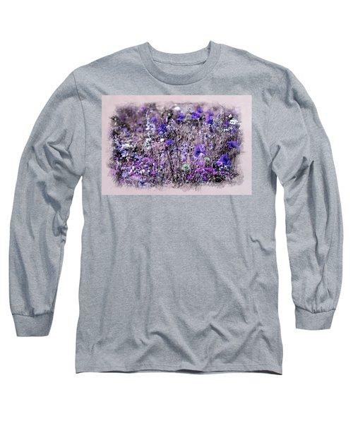 Violet Mood Long Sleeve T-Shirt