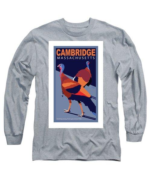 Walking Away From You-cambridge Long Sleeve T-Shirt
