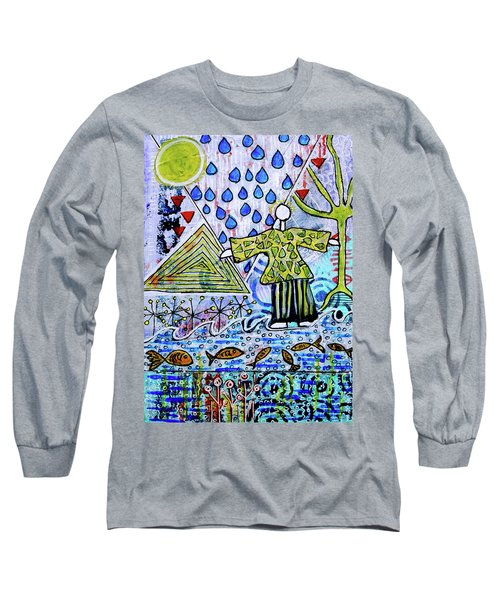 Walking On Water Long Sleeve T-Shirt