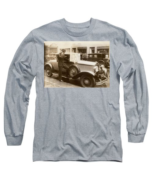 Wall Street Crash, 1929 Long Sleeve T-Shirt