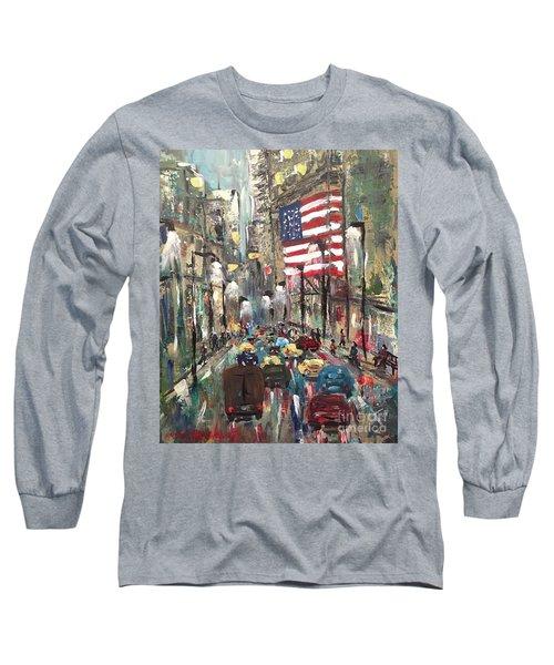 wall street NY Long Sleeve T-Shirt