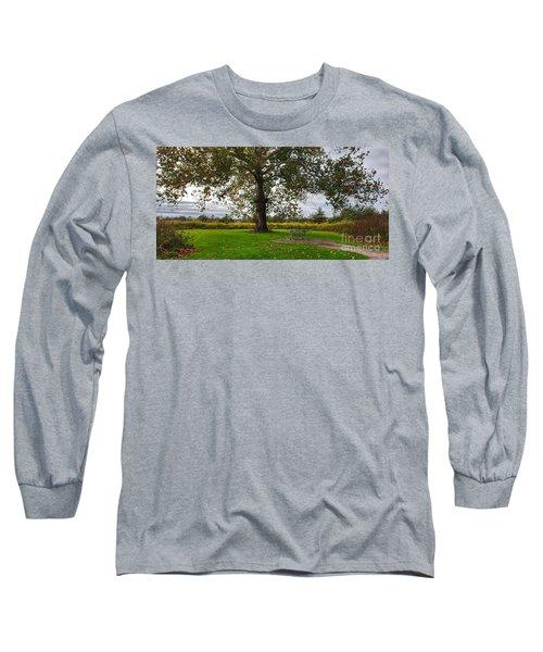 Walnut Woods Tree - 1 Long Sleeve T-Shirt