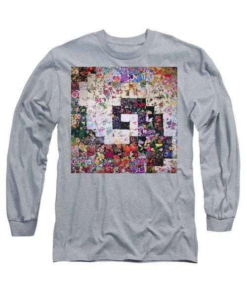 Watercolor Swirl Long Sleeve T-Shirt
