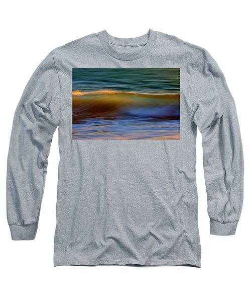 Wave Abstact Long Sleeve T-Shirt