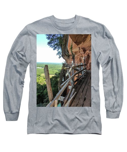We Take Our Guests Here If They Are Brave Enough Long Sleeve T-Shirt