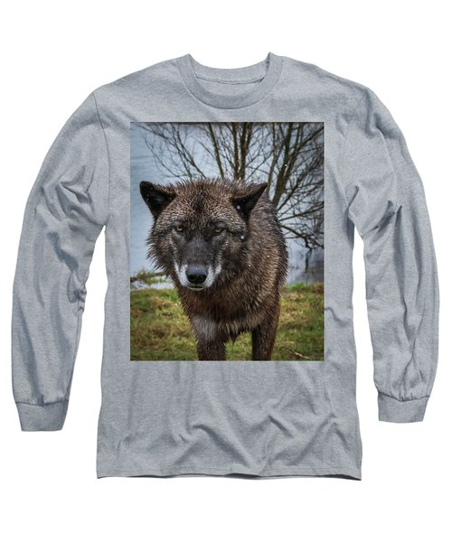 Wet Wolf Long Sleeve T-Shirt