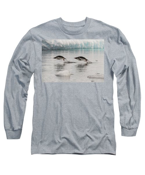 When Penguins Fly Long Sleeve T-Shirt