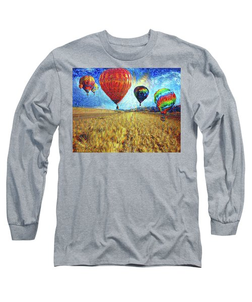 When The Sky Blooms Long Sleeve T-Shirt