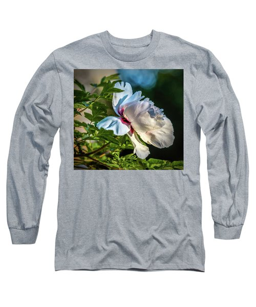 White Petals #i4 Long Sleeve T-Shirt