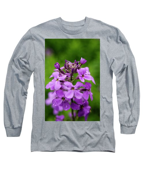 Wild Flowers In The Forest Long Sleeve T-Shirt