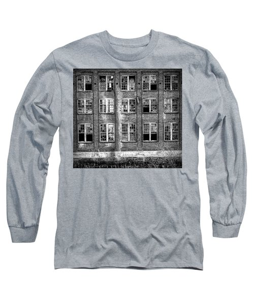Windows Of Old Claremont Long Sleeve T-Shirt