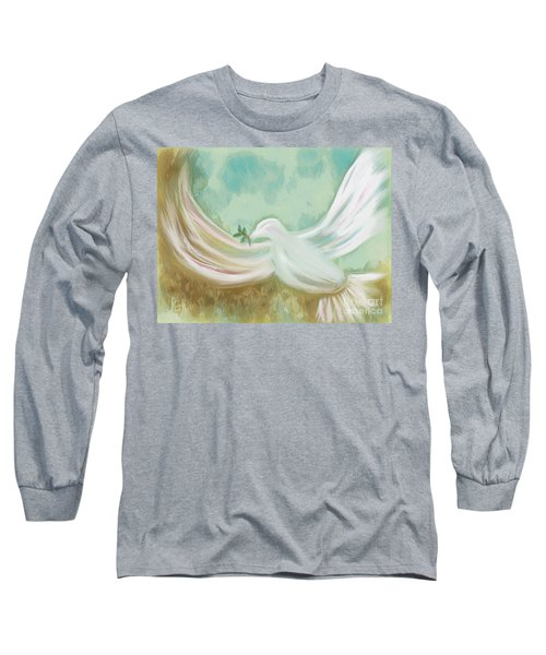 Wings Of Peace Long Sleeve T-Shirt