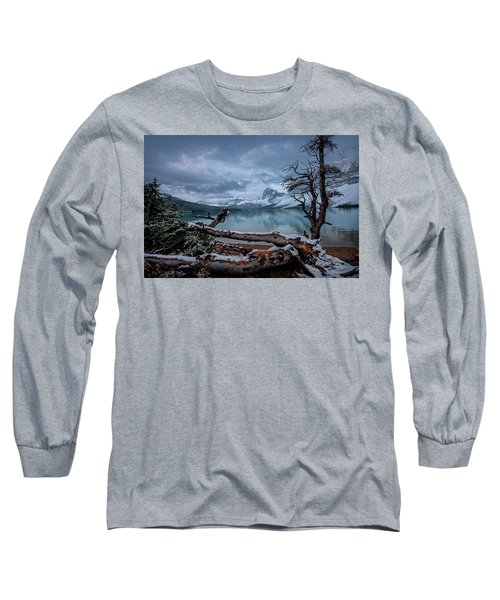 Winter Is Coming Bow Lake Long Sleeve T-Shirt