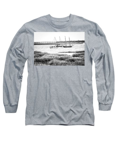 Winter Mooring - Beaufort River Long Sleeve T-Shirt