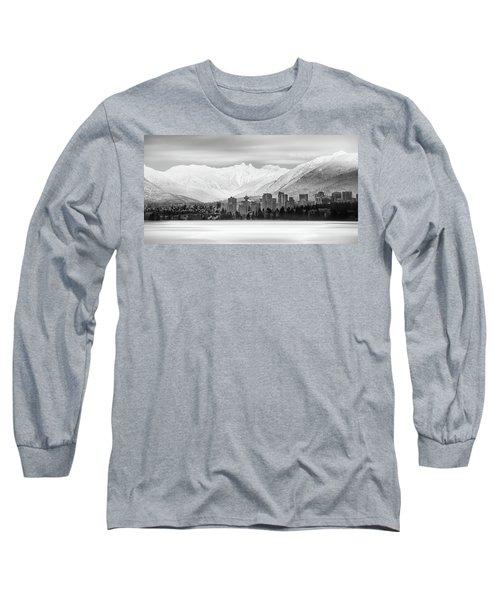 Winterscape Vancouver Long Sleeve T-Shirt