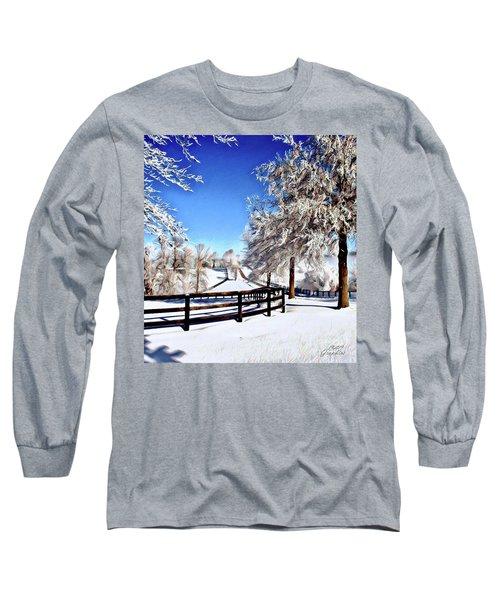Wintry Lane Long Sleeve T-Shirt