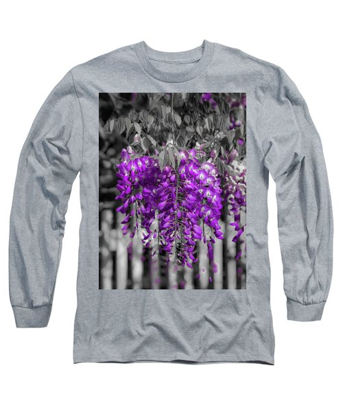 Wisteria Falling Long Sleeve T-Shirt