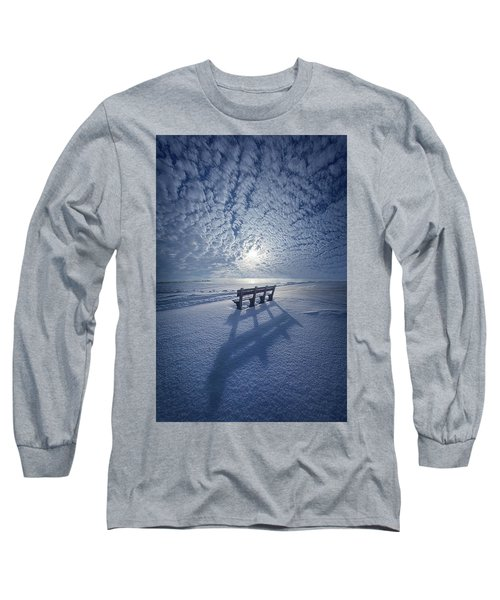 Long Sleeve T-Shirt featuring the photograph Within The Absence Are The Memories by Phil Koch