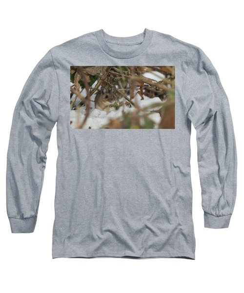 Wood Mouse Long Sleeve T-Shirt