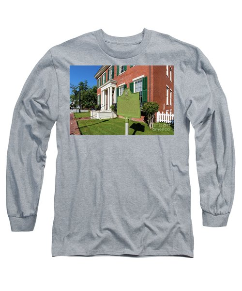 Woodrow Wilson Boyhood Home - Augusta Ga 1 Long Sleeve T-Shirt