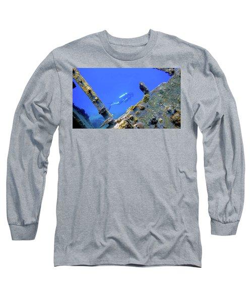 Wreck Framed Long Sleeve T-Shirt