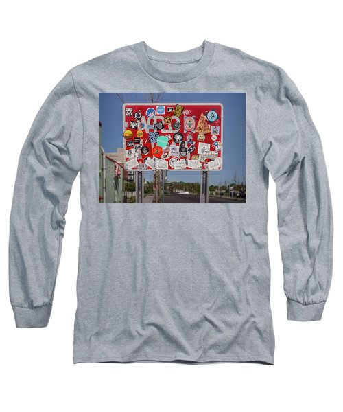 Wrong Way Long Sleeve T-Shirt