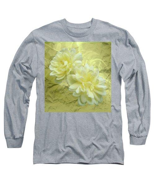 Yellow Foil Long Sleeve T-Shirt
