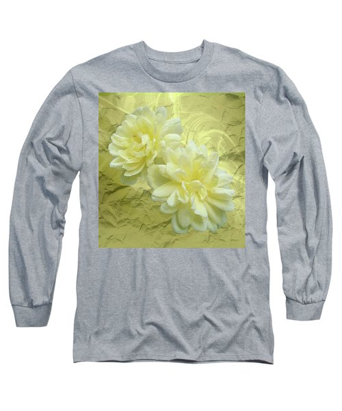 Yellow Foil Long Sleeve T-Shirt
