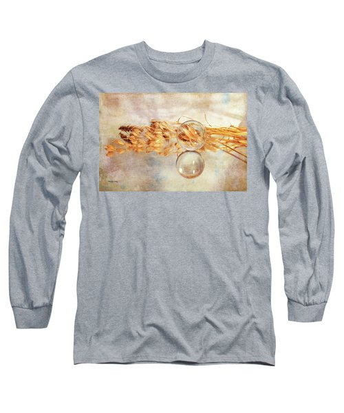 Long Sleeve T-Shirt featuring the photograph Yesterday's Seeds by Randi Grace Nilsberg