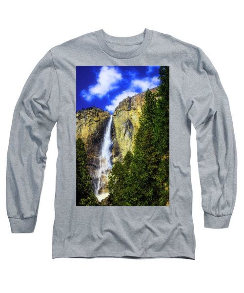 Yosemite Valley Fall In The Clouds Long Sleeve T-Shirt