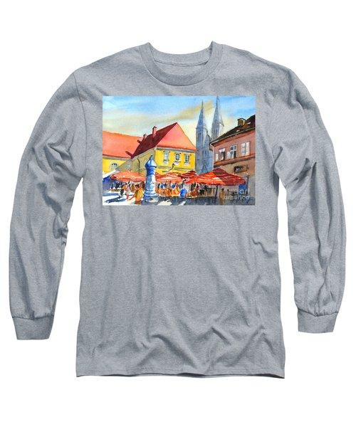 Zagreb Near Dolce Market Long Sleeve T-Shirt