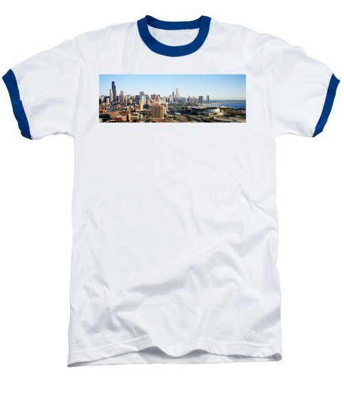 Chicago, Illinois, Usa Baseball T-Shirt by Panoramic Images