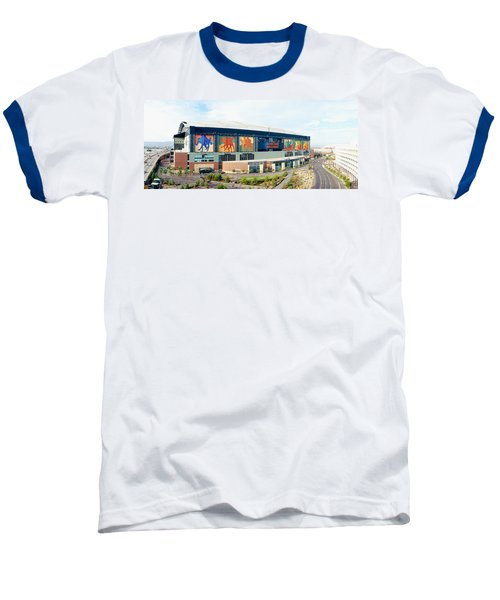 High Angle View Of A Baseball Stadium Baseball T-Shirt by Panoramic Images
