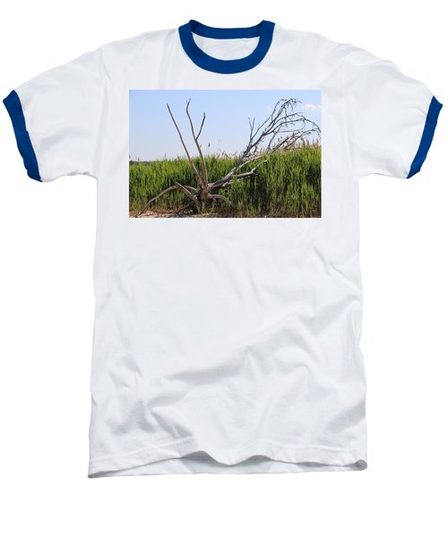 Baseball T-Shirt featuring the photograph All Alone by Paul SEQUENCE Ferguson             sequence dot net