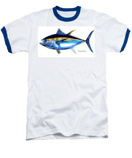 Big Eye Tuna Baseball T-Shirt by Carey Chen