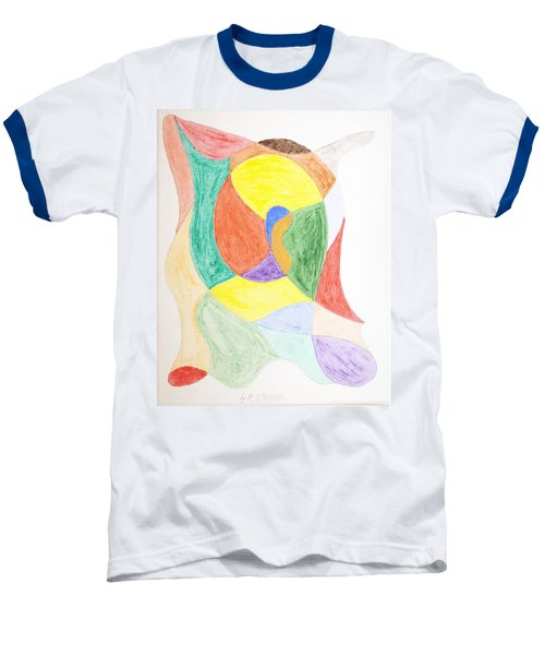 Baseball T-Shirt featuring the painting Duck by Stormm Bradshaw