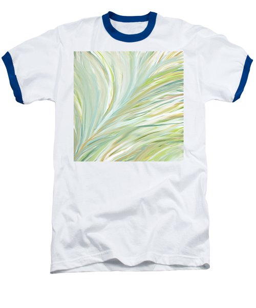 Blooming Grass Baseball T-Shirt by Lourry Legarde