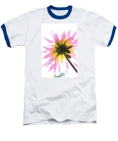 Baseball T-Shirt featuring the photograph Dahlia Flower by Joy Watson