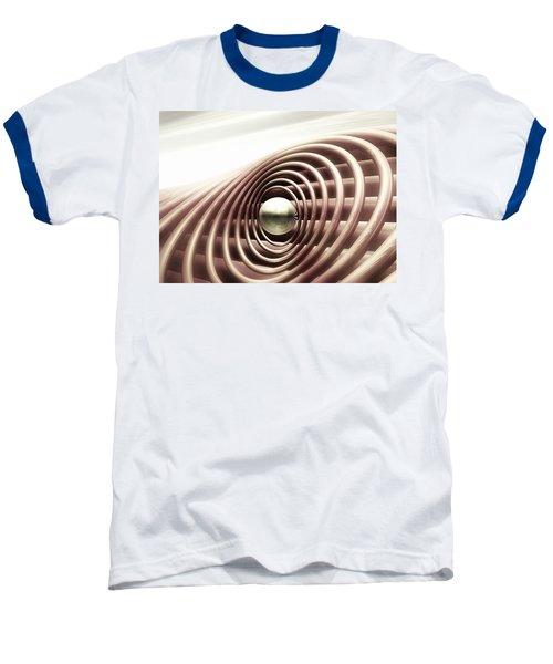 Baseball T-Shirt featuring the digital art Emanate by John Alexander