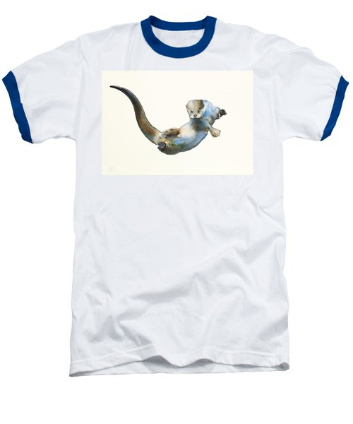 Hunter Baseball T-Shirt by Mark Adlington