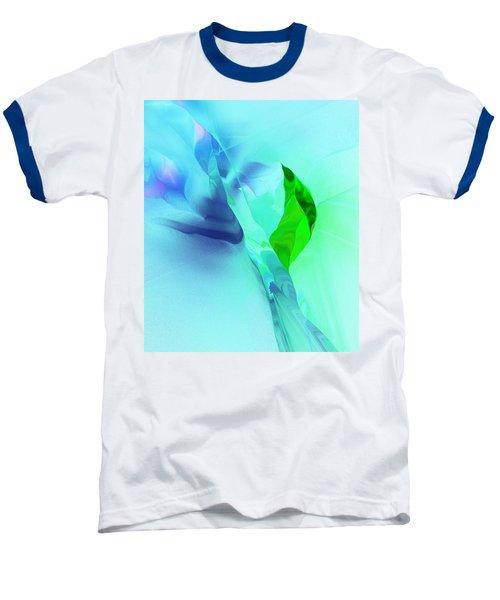 Baseball T-Shirt featuring the digital art It's A Mystery  by David Lane