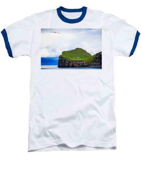 Baseball T-Shirt featuring the photograph Most Peaceful House In The World by Peta Thames