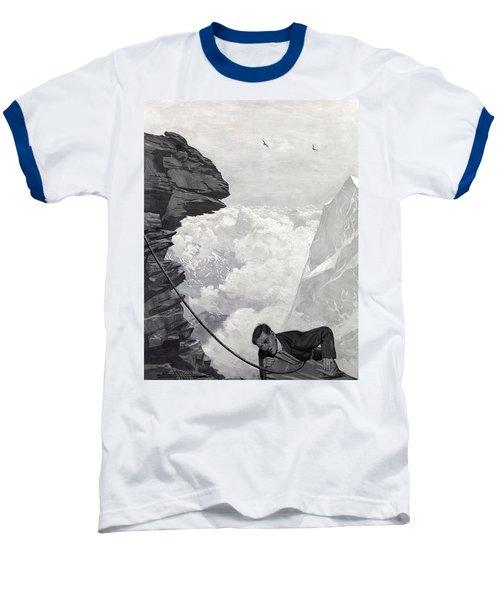 Nearly There Baseball T-Shirt by Arthur Herbert Buckland
