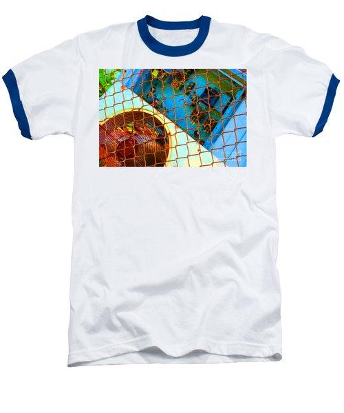 Baseball T-Shirt featuring the photograph Power Failure by Christiane Hellner-OBrien