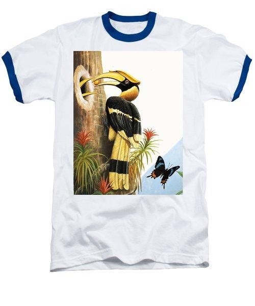 The Hornbill Baseball T-Shirt by R.B. Davis