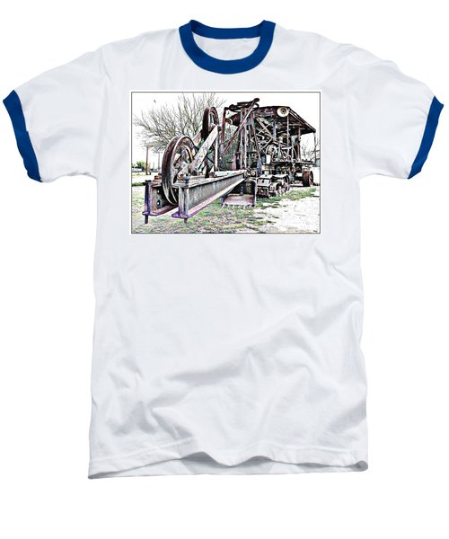 Baseball T-Shirt featuring the photograph The Steam Shovel by Glenn McCarthy Art and Photography