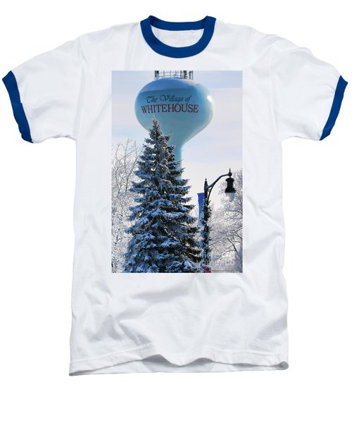 Whitehouse Water Tower  7361 Baseball T-Shirt by Jack Schultz